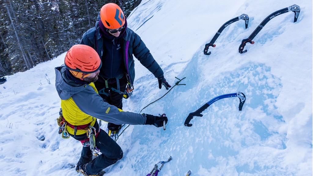 Learn to ice climb, grassi falls, peakstratagem, ice climbing, peakeats