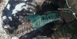 Nemesis, Mount Stanley, AST1, Avalanche Skills Training 1, Canadian Rockies, IceLines, PeakStratagem