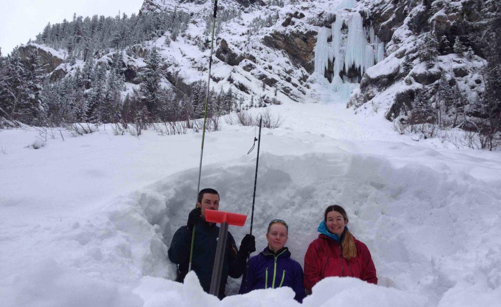 Pilsener Pillar, Mount Dennis, AST1, Avalanche Skills Training 1, Canadian Rockies, IceLines, PeakStratagem, avalanche skills training 1