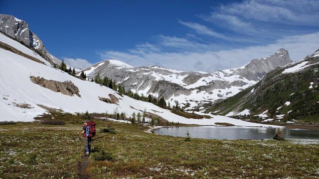 Intro to backpacking Rocky Mountain Adventures Northover Ridge Kananaskis